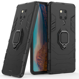 Shockproof Kickstand Armor Case Protection Hard PC TPU Cover For Huawei Mate 9/10 Pro/ Mate 20/ 20 Pro Lite X/ P20 /P20Pro Lite