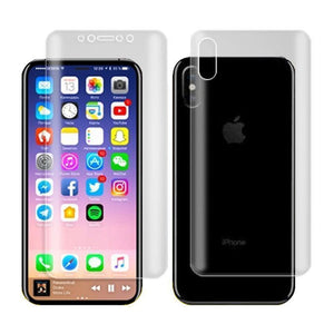 3 in 1 360° Full Screen Protector Film With Full set of Accessories Front and Back Film for iPhone X/XS/XS Max/XR/8/7/6/6s HUAWEI P20/P20 Pro/P20 Lite/Samsung S9/S9 Plus/Note8 Screen Protective