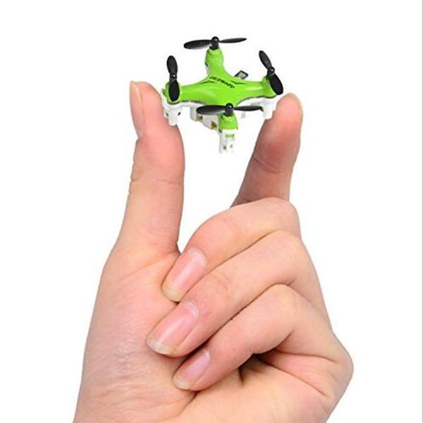 FY804 Smallest Nano Drone with 3D Flips Headless Mode LED Light Mini RC Quadcopter RTF