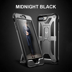 YOUMAKER FOR iPhone 7 8 X XR XS Max  Heavy Duty Protection Full Body Shockproof Slim Fit Phone Cover