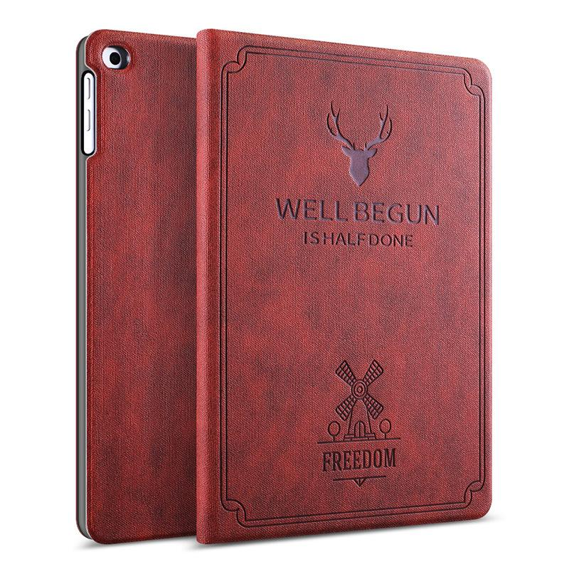 "iPad Silicone Soft Case New Tablet Stand PU Leather Magnet Smart Cover Auto Sleep/Wake for iPad Mini iPad Air iPad 9.7"" 10.5"" 11"""