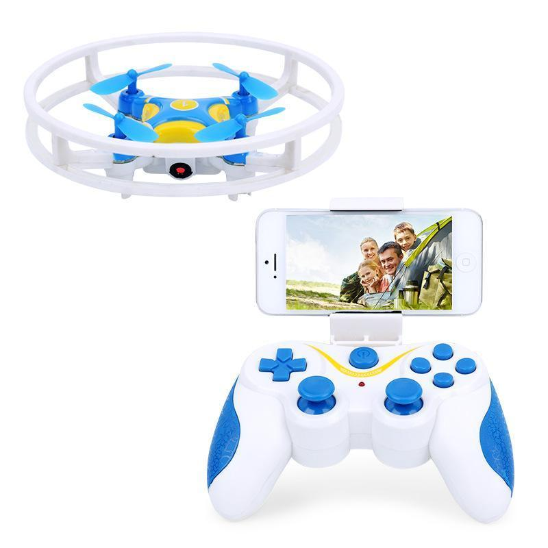 DWi Dowellin D1 Wifi FPV With 1MP 480P Camera Integrated Protector Ring Altitude Hold RC Quadcopter RTF