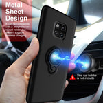 Magnetic Ring Armor Shell Hard PC Phone Cases for Huawei Mate 20/ 20 Pro/ 20 Lite/ 20X /Mate 9/ 9 Pro