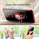 Ultra Thin Transparent Phone Case For Huawei Mate 20 10 Pro P20 P10 Lite Car Magnetic Cases