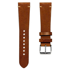 SUPER DEAL - KLOCKARMBAND - GECKOTA VINTAGE WINCHESTER - BROWN - ROYAL STRAPS