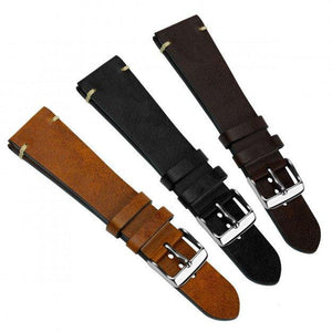 SUPER DEAL - KLOCKARMBAND - GECKOTA VINTAGE WINCHESTER - DARK BROWN - ROYAL STRAPS