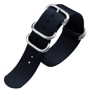 ZULU BAND - ZULUDIVER ZULU STRAP - NAVY BLUE - ROYAL STRAPS