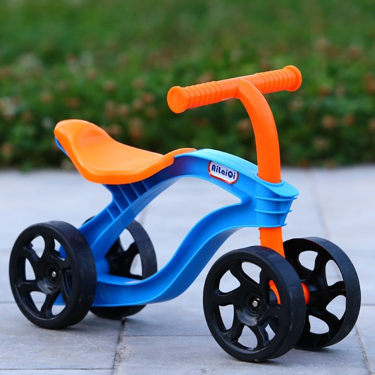 4 Wheels Children's Push Scooter Balance Bike Walker Infant Scooter Bicycle for Kids Outdoor Ride on Toys Cars Wear Resistant - Million Plaza