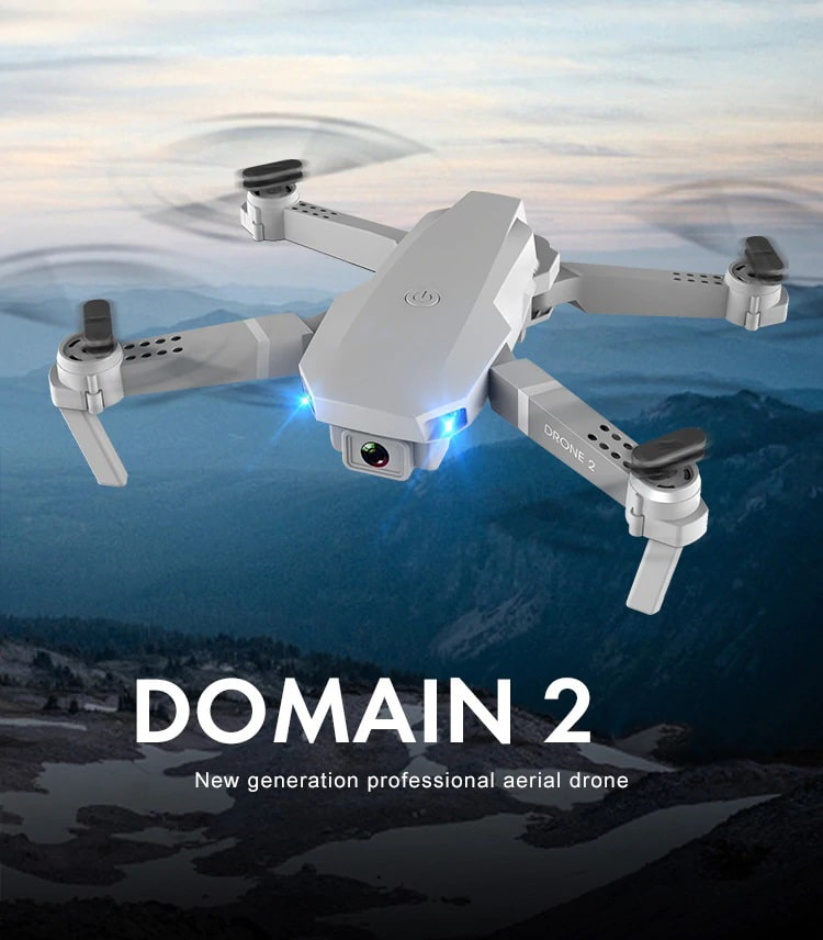 Drone 2 Pro - 4K, 1080P, 720P Camera | With 1, 2 and 3 Battery Options | Home details - Million Plaza
