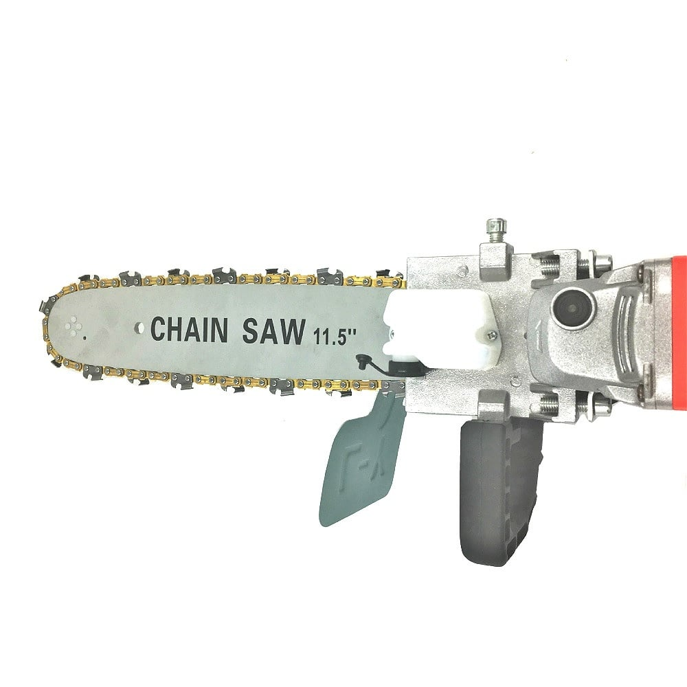 Electric Chainsaw Bracket Adjustable Universal M10/M14/M16 Chain Saw Part Angle Grinder Into Chain Saw - Million Plaza