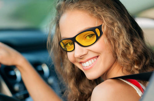 Night Vision Glasses For Driving  UV Protection Sunglasses  Look - Million Plaza