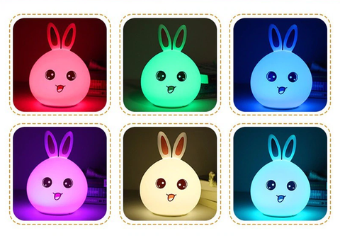 Rabbit LED Lamb Multicolor