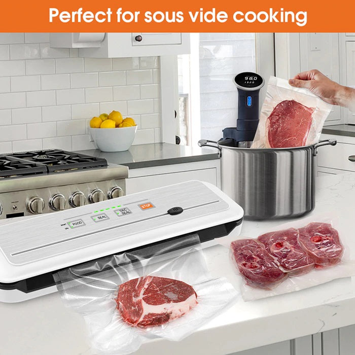 Vacuum Sealer Packing Machine Sous Vide For Food Storage And Packer Bags for Packaging Cooking - Million Plaza