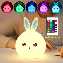 Load image into Gallery viewer, New Multicolor Rabbit LED Lamp with Touch Sensor & Remote Control - Million Plaza