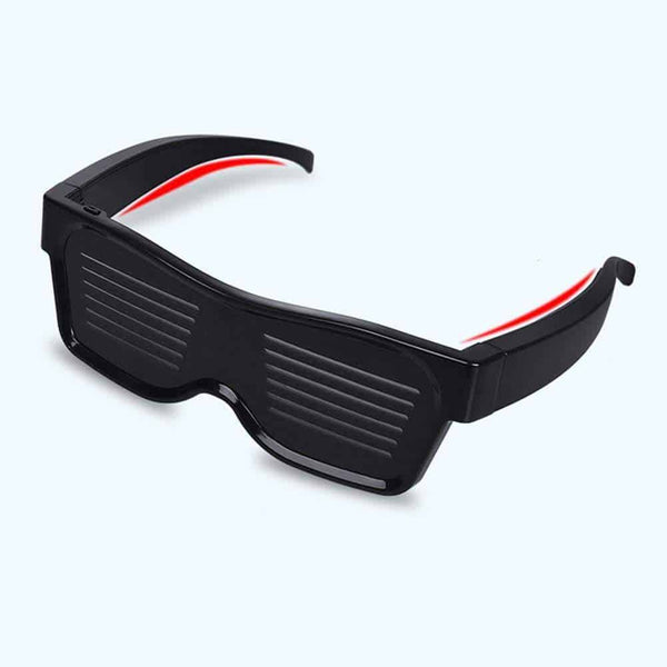 Smart Bluetooth Led Glasses | Mobile App Control - Million Plaza