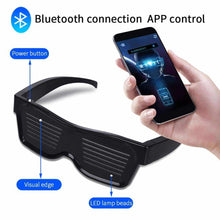 Load image into Gallery viewer, Smart Bluetooth Led Glasses | Mobile App Control - Million Plaza