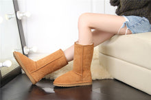 Load image into Gallery viewer, Womens Leather Winter Boots | Very Warm & Comfortable - Million Plaza