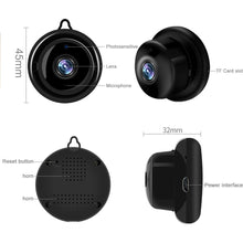 Load image into Gallery viewer, Wireless Mini IP Camera 1080P FHD IR Night Vision | IOS Android Windows Supported - Million Plaza