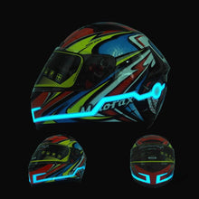 Load image into Gallery viewer, Waterproof Motorcycle Helmet | LED Light Riding - Million Plaza