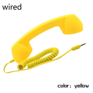 Wired & Wireless Retro Telephone Handset Receiver - Million Plaza