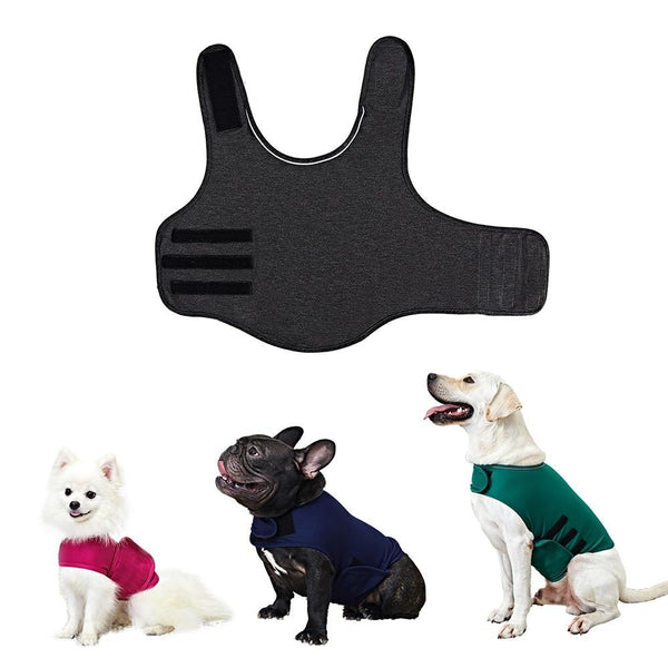 Dog Anxiety Vest Jacket | For Small Medium Large Dogs Thunder Clothes Shirt | Pet Supplies - Million Plaza