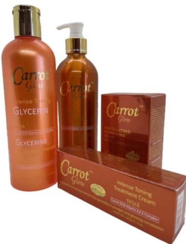 Carrot Glow Intense Toning Set - YLKgood
