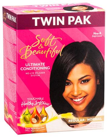 Soft & Beautiful Ultimate Conditioning No-Lye Relaxer System Regular - YLKgood