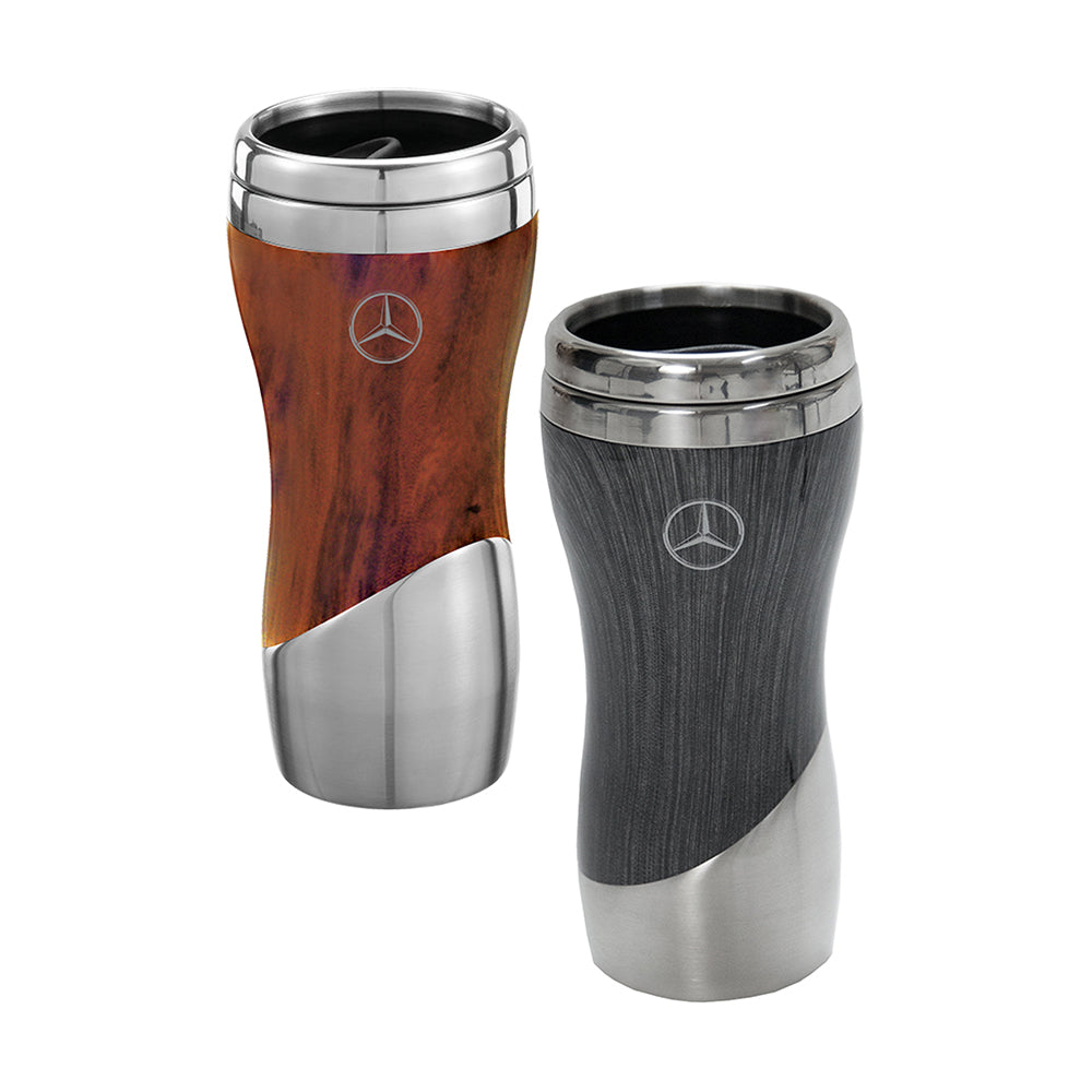 Mercedes-Benz Wood Grain Tumbler