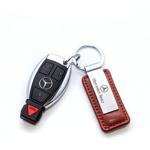 Mercedes-Benz Leather Keychain