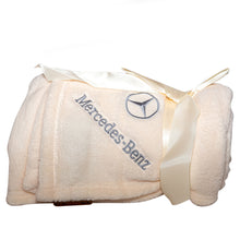 Mercedes-Benz White Blanket