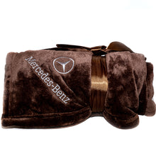 Mercedes-Benz Brown Blanket