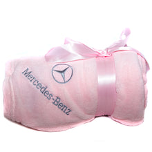Mercedes-Benz Pink Blanket