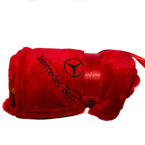 Mercedes-Benz Red Blanket