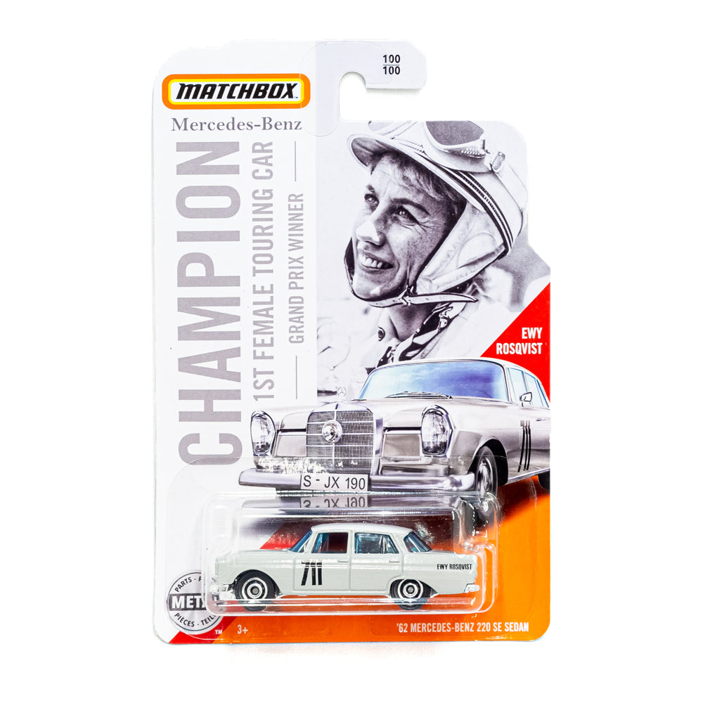 Limited Mercedes-Benz Matchbox: 1st Female Touring Car - Grand Prix Winner