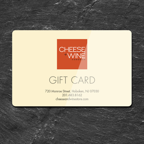 Cheese+Wine Gift Card