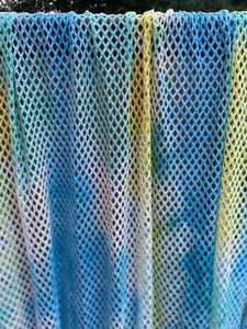 Blue Green Netting