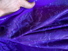 Load image into Gallery viewer, Purple Rose Spandex AOSS