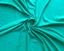 Load image into Gallery viewer, Aqua Rayon Gabardine Woven