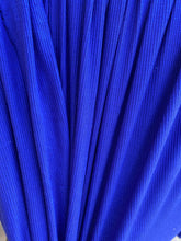 Load image into Gallery viewer, Royal Blue Poly Rayon Jersey Baby Ribbed Knit