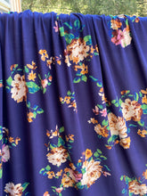 Load image into Gallery viewer, Laurel Floral Brushed Polyester