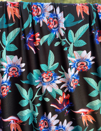 Paradise Floral Rayon Spandex