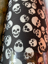 Load image into Gallery viewer, Black 1in. Skull Twill
