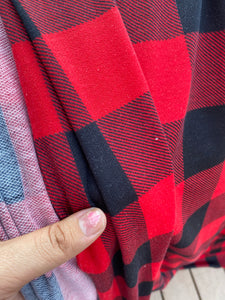 Buffalo Plaid French Terry