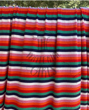 Load image into Gallery viewer, Zinnia Multicolor Stripe Ribbed Knit