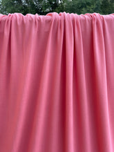 Load image into Gallery viewer, Dusty Coral Brushed Polyester Spandex