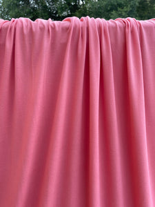 Dusty Coral Brushed Polyester Spandex