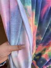Load image into Gallery viewer, Granite Neon Tie Dye French Terry