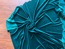 Load image into Gallery viewer, Emerald Corduroy Knit Velvet