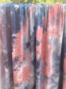 Summer Storm Tie Dye Cotton Lycra