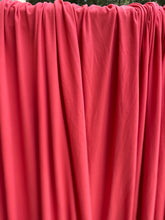 Load image into Gallery viewer, Coral Double Brushed Polyester Spandex